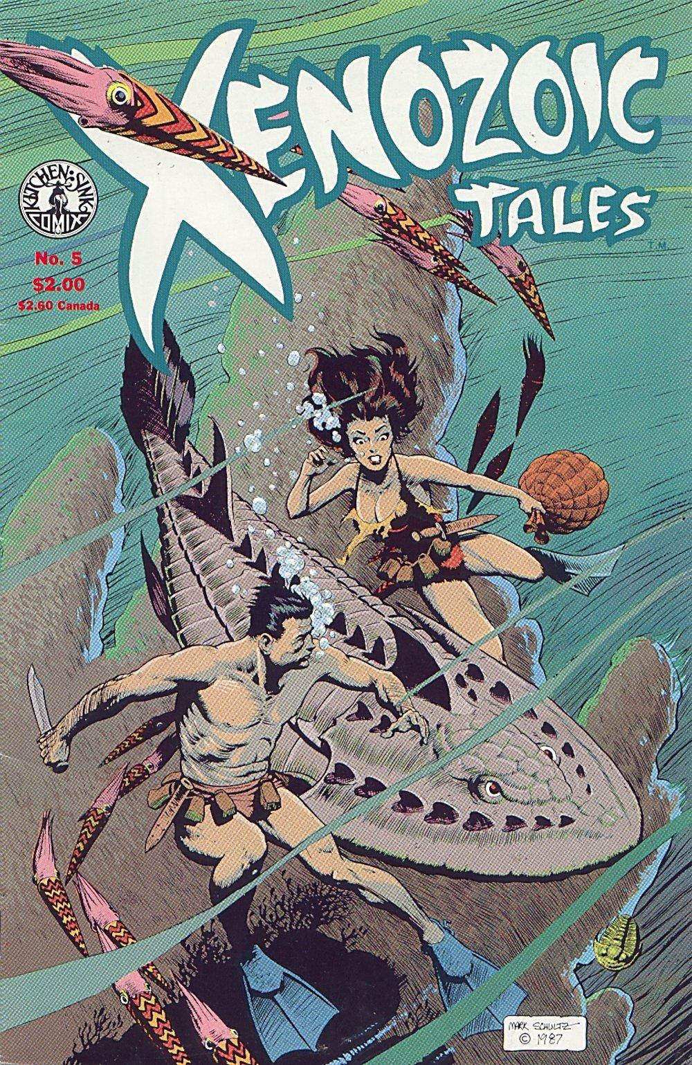 Read online Xenozoic Tales comic -  Issue #5 - 2