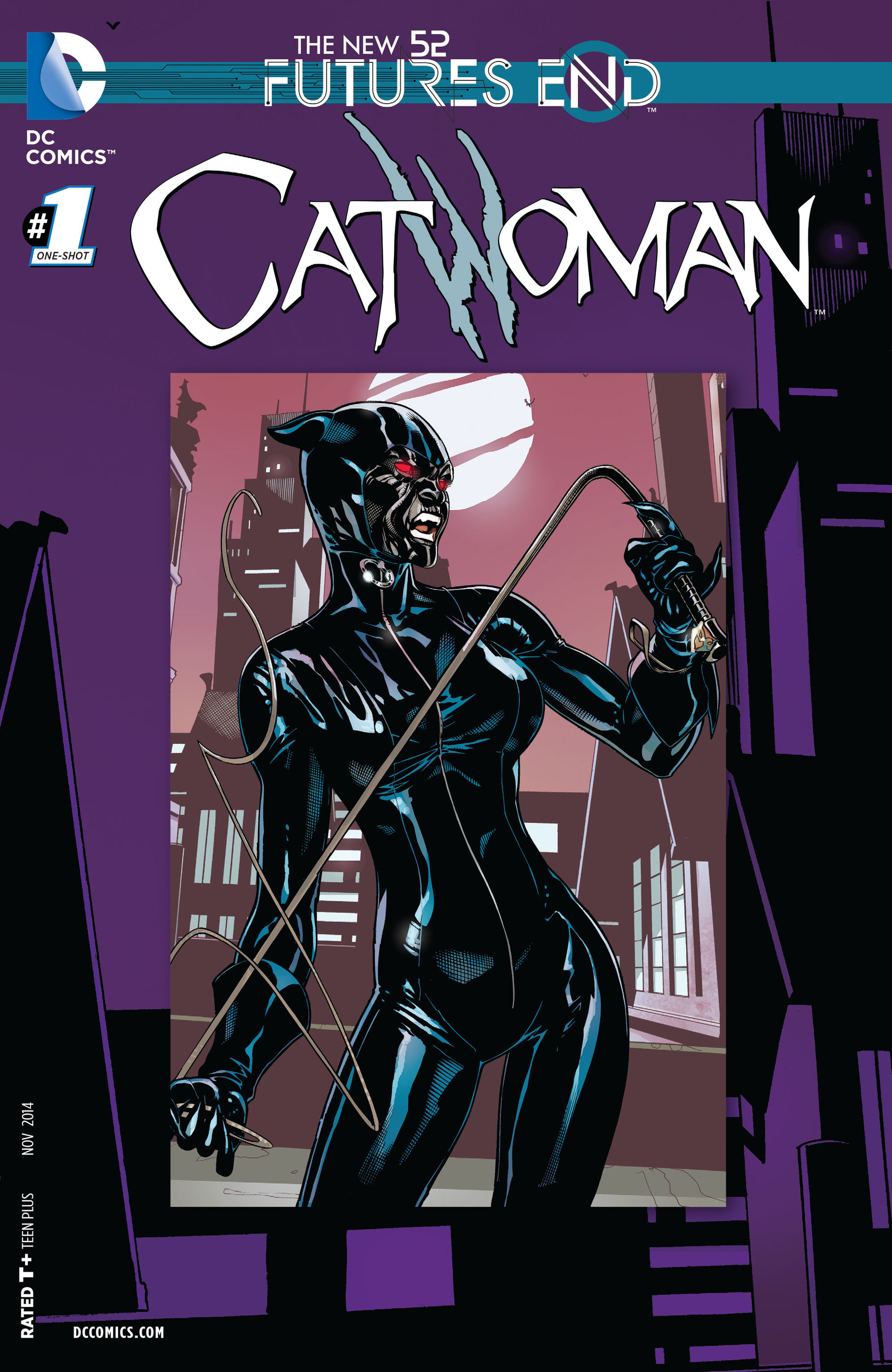 Catwoman: Futures End Full Page 1