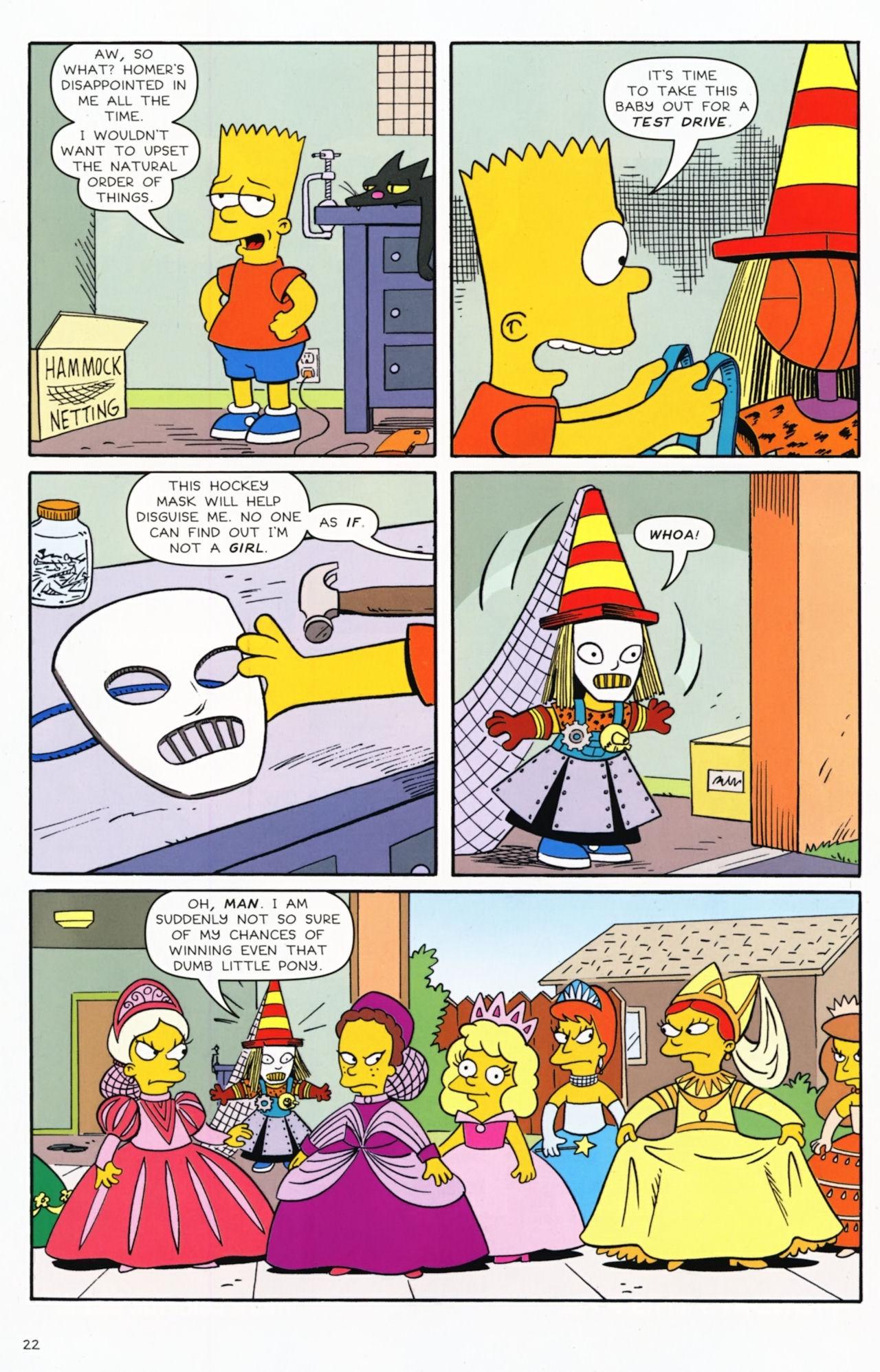 Read online Simpsons Comics Presents Bart Simpson comic -  Issue #55 - 18