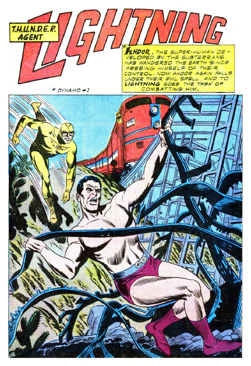T.H.U.N.D.E.R. Agents (1965) issue 9 - Page 14