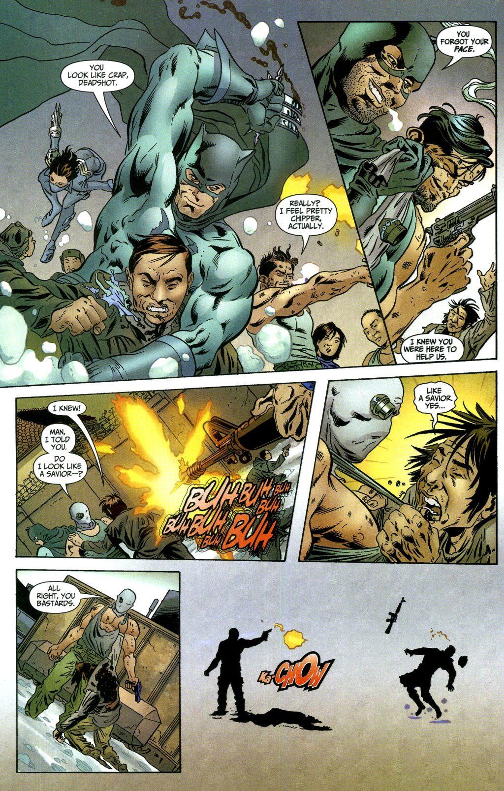 Read online Secret Six (2006) comic -  Issue #1 - 11