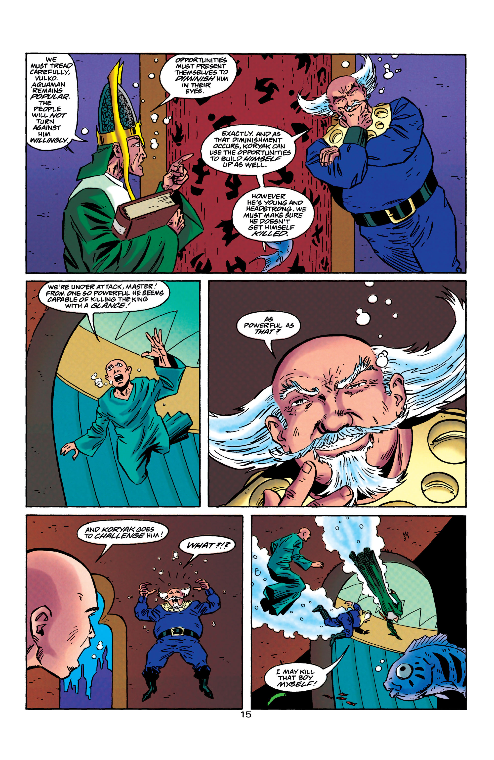 Read online Aquaman (1994) comic -  Issue #40 - 16