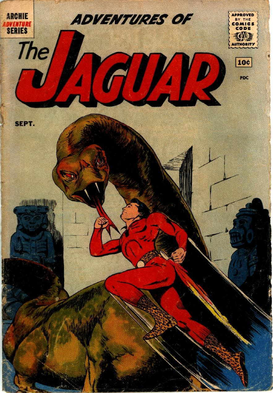 Adventures of the Jaguar issue 1 - Page 1