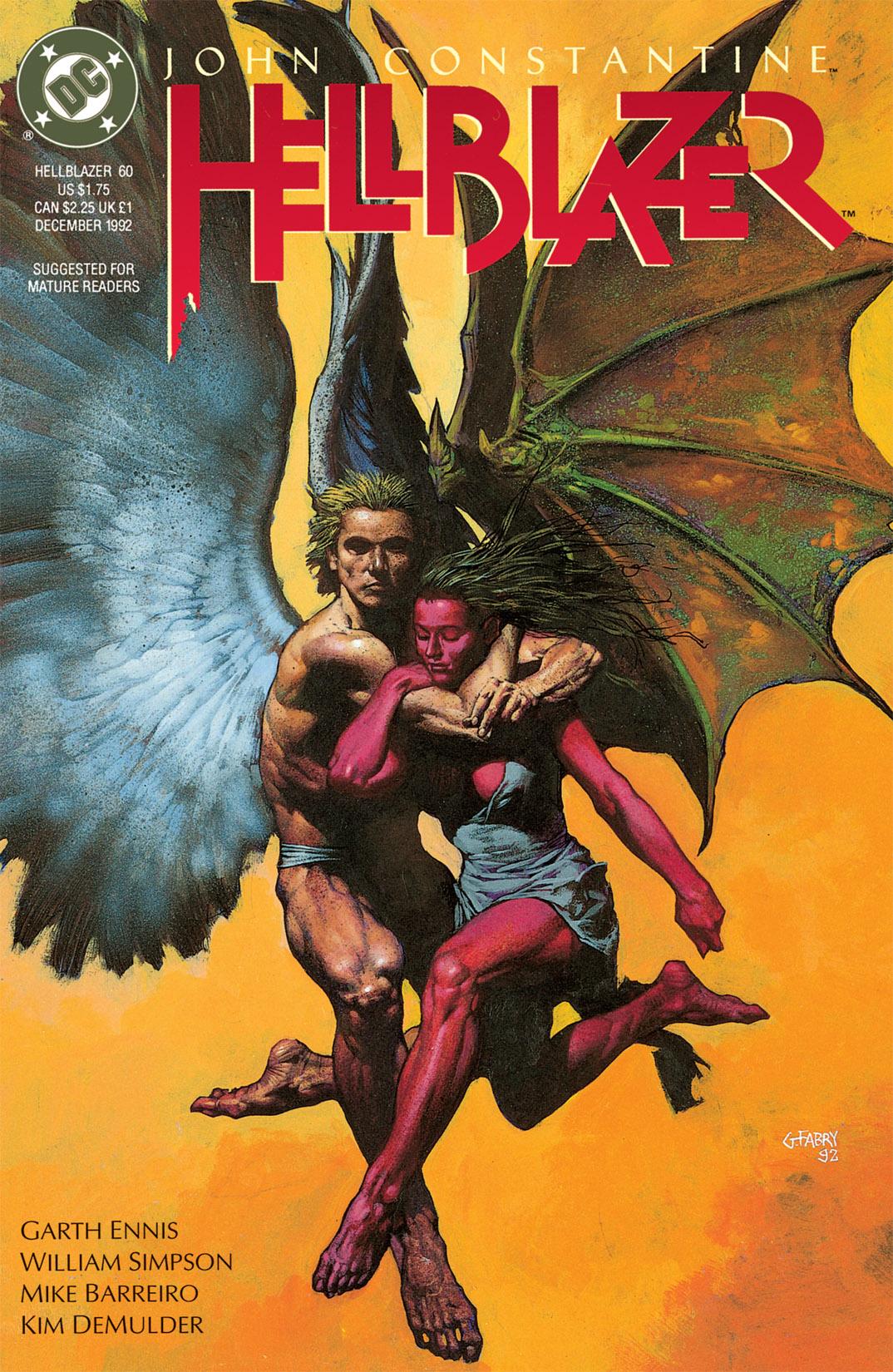Hellblazer issue 60 - Page 1