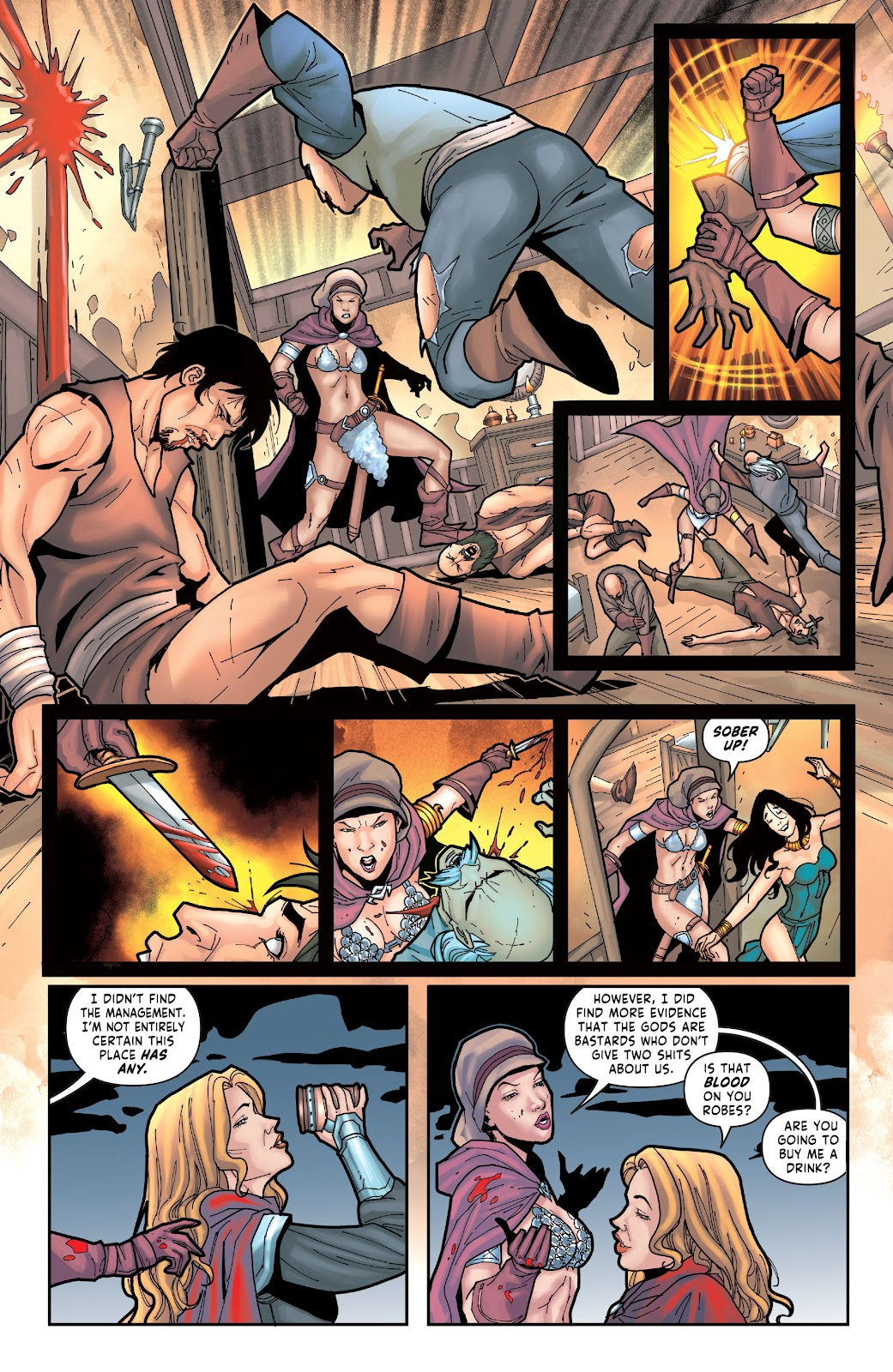 Red Sonja: The Price of Blood issue 2 - Page 14