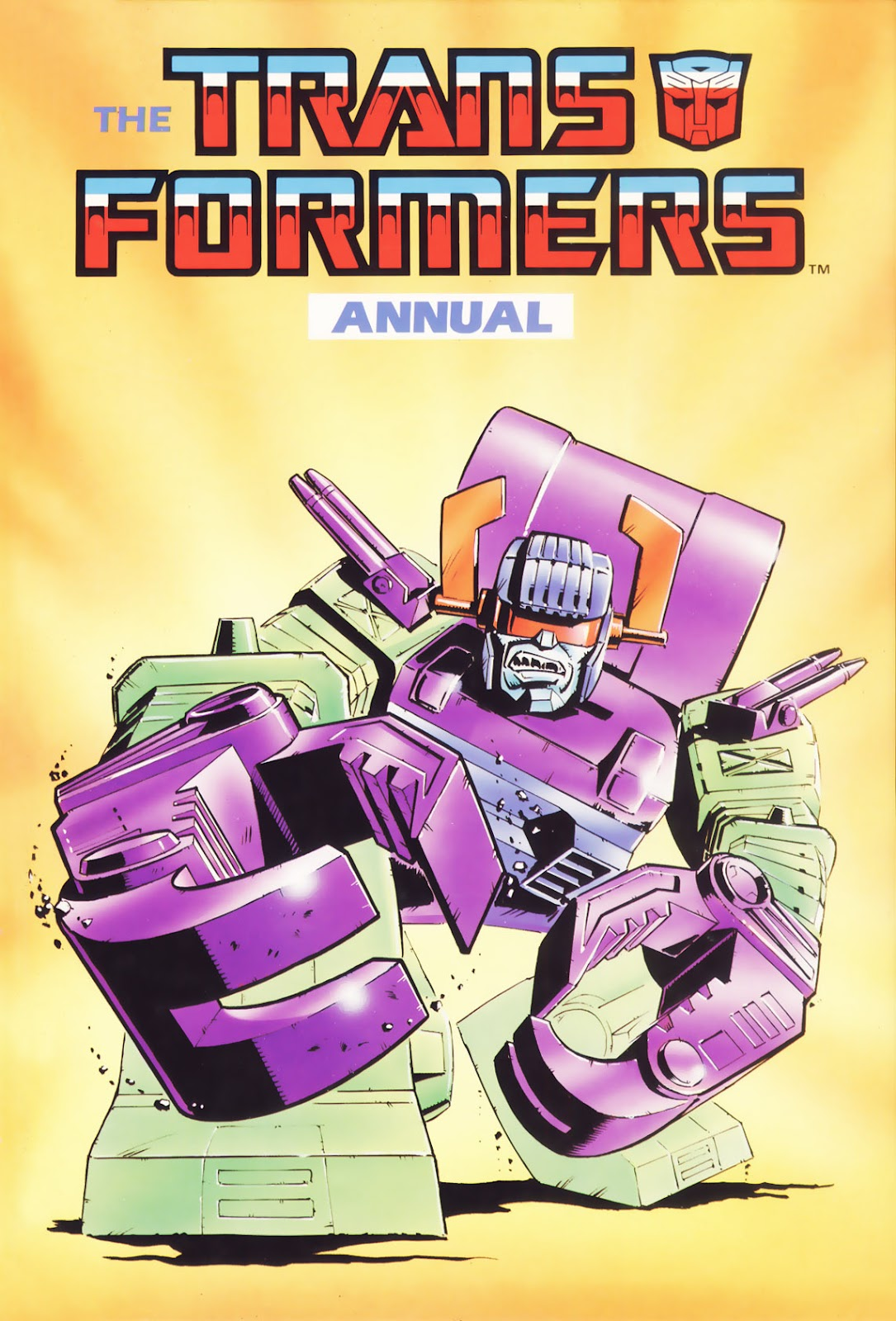The Transformers Annual 1988 Page 1