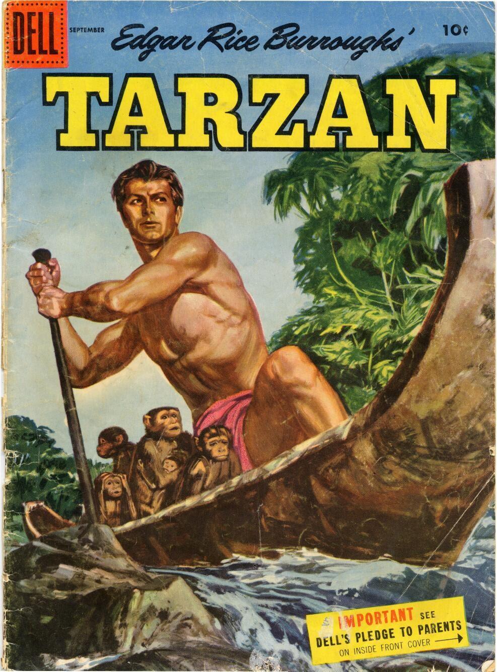 Tarzan (1948) issue 72 - Page 1