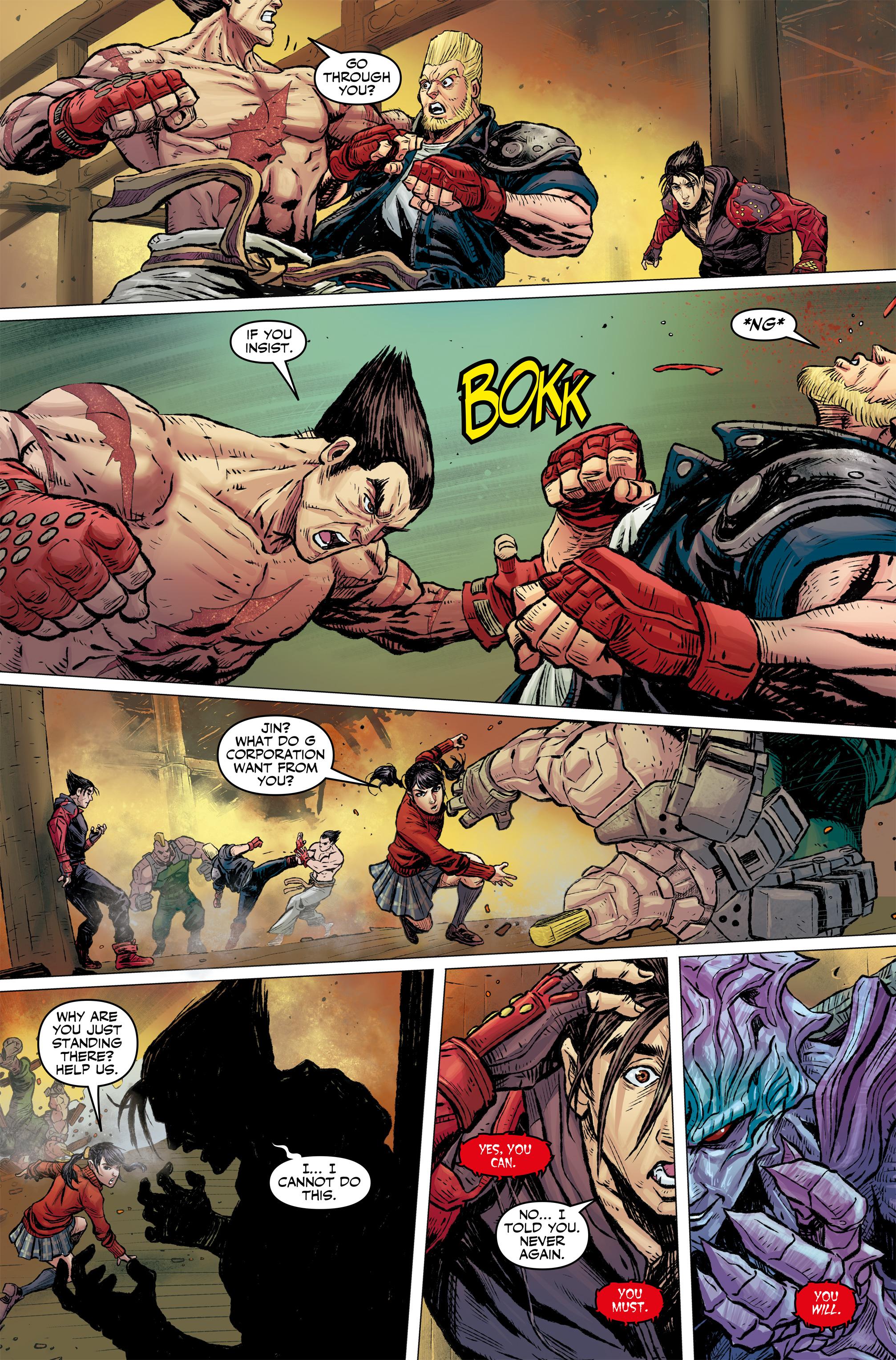Read online Tekken comic -  Issue #2 - 9