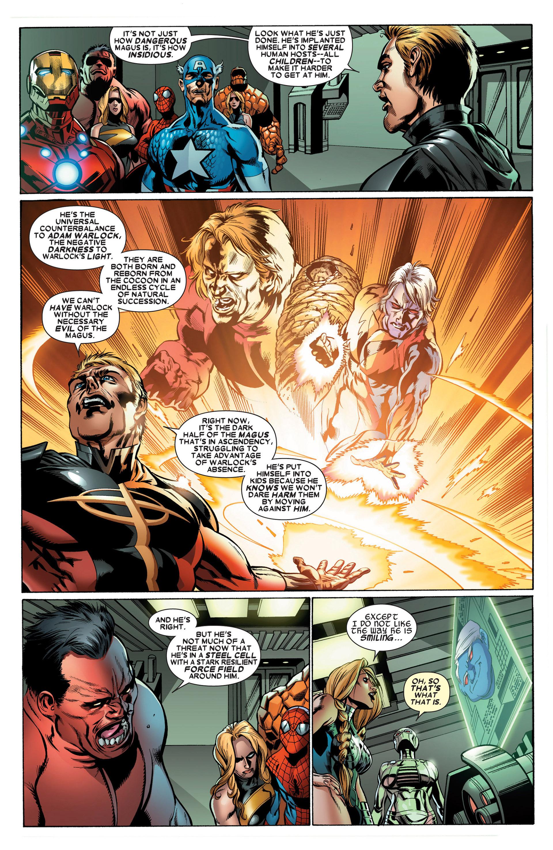 Read online Annihilators: Earthfall comic -  Issue #3 - 5