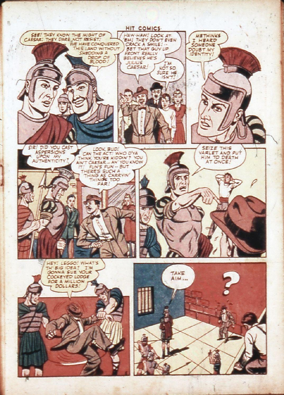 Read online Hit Comics comic -  Issue #30 - 8