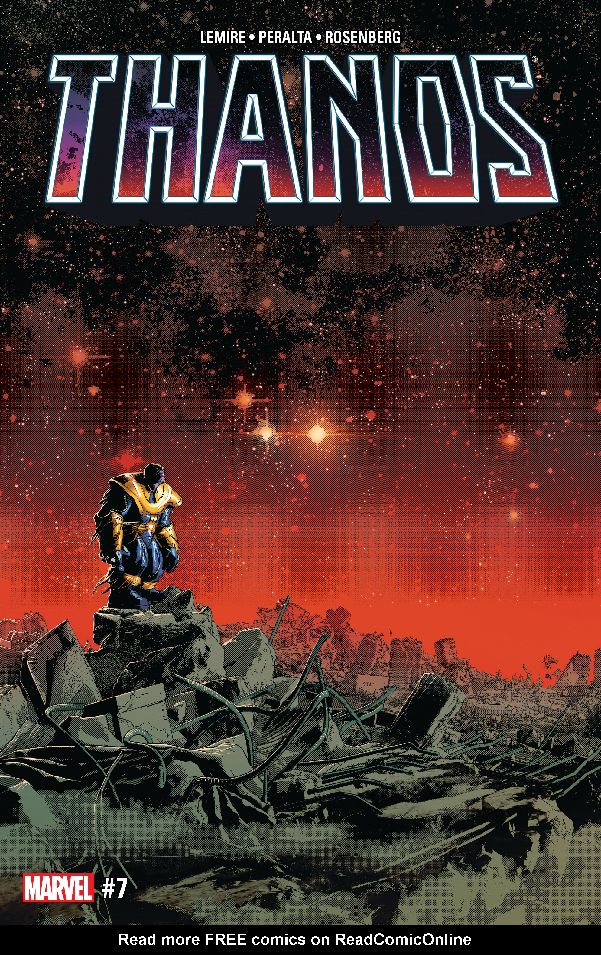 Read online Thanos (2016) comic -  Issue #7 - 1