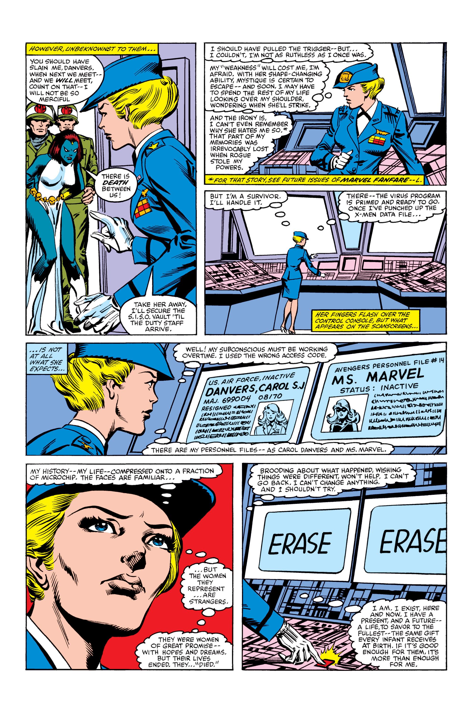 Read online Uncanny X-Men (1963) comic -  Issue #158 - 22