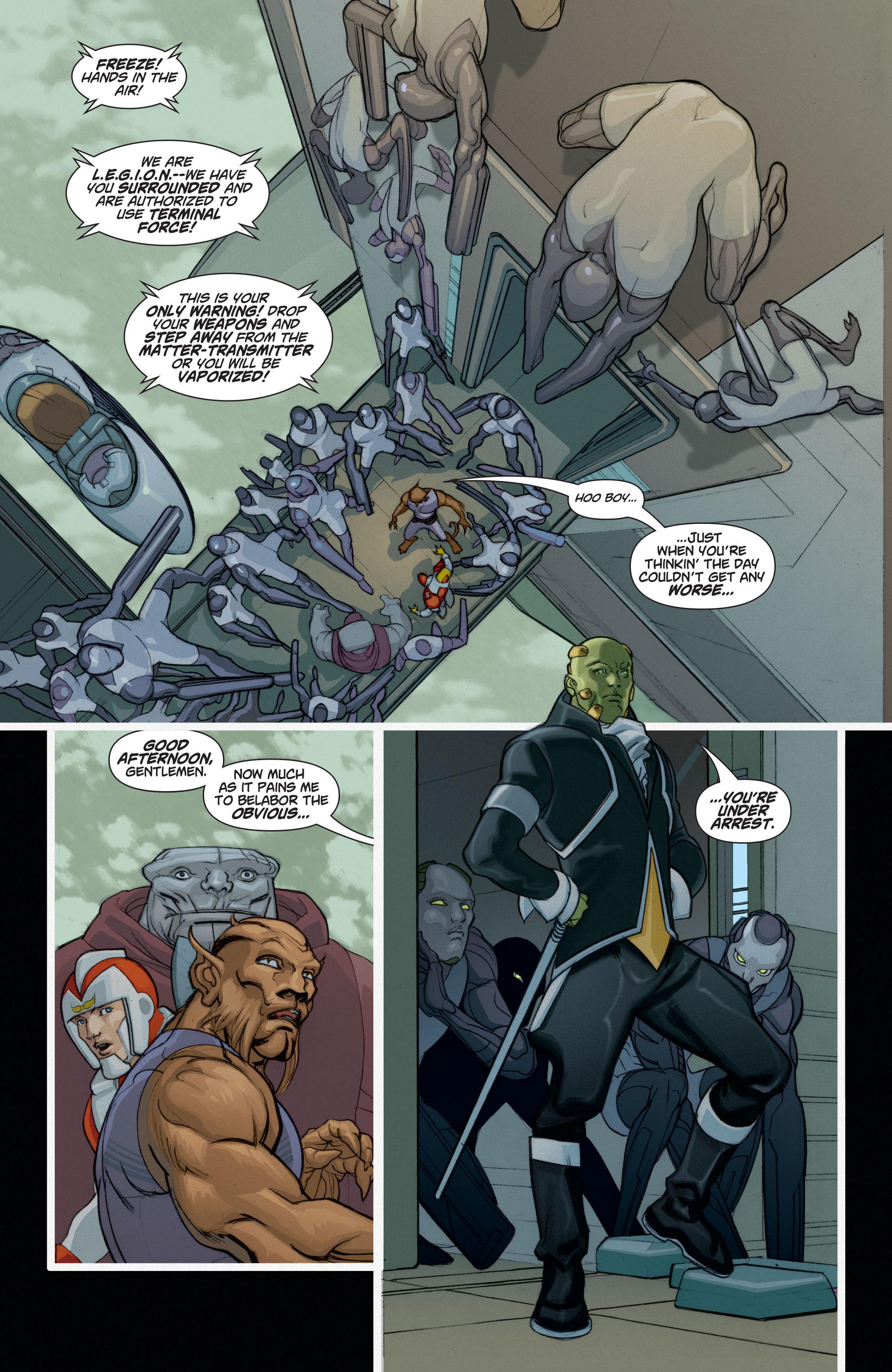 Read online Adam Strange (2004) comic -  Issue #6 - 13