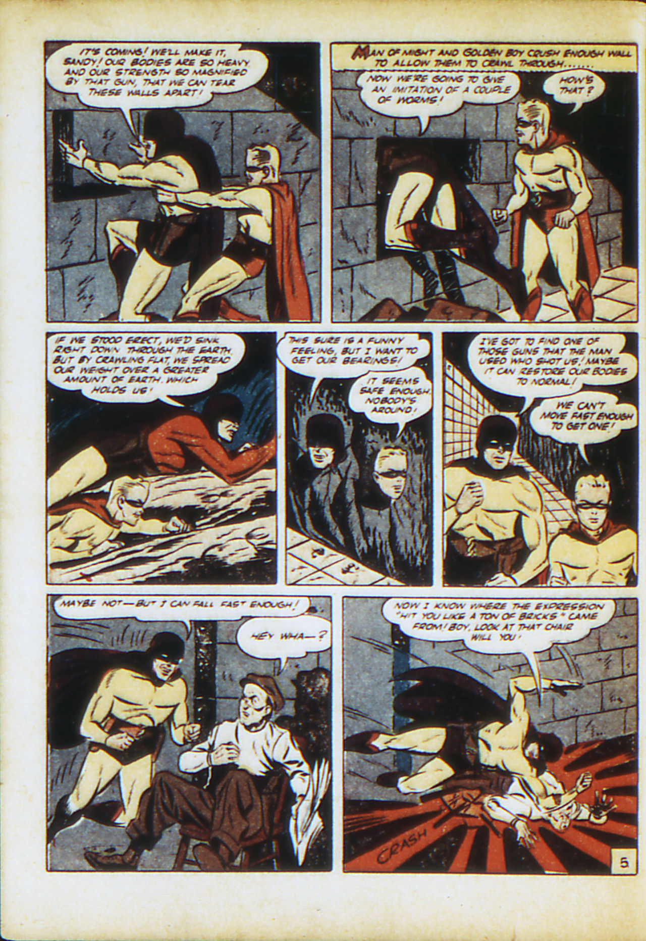 Read online Adventure Comics (1938) comic -  Issue #71 - 63