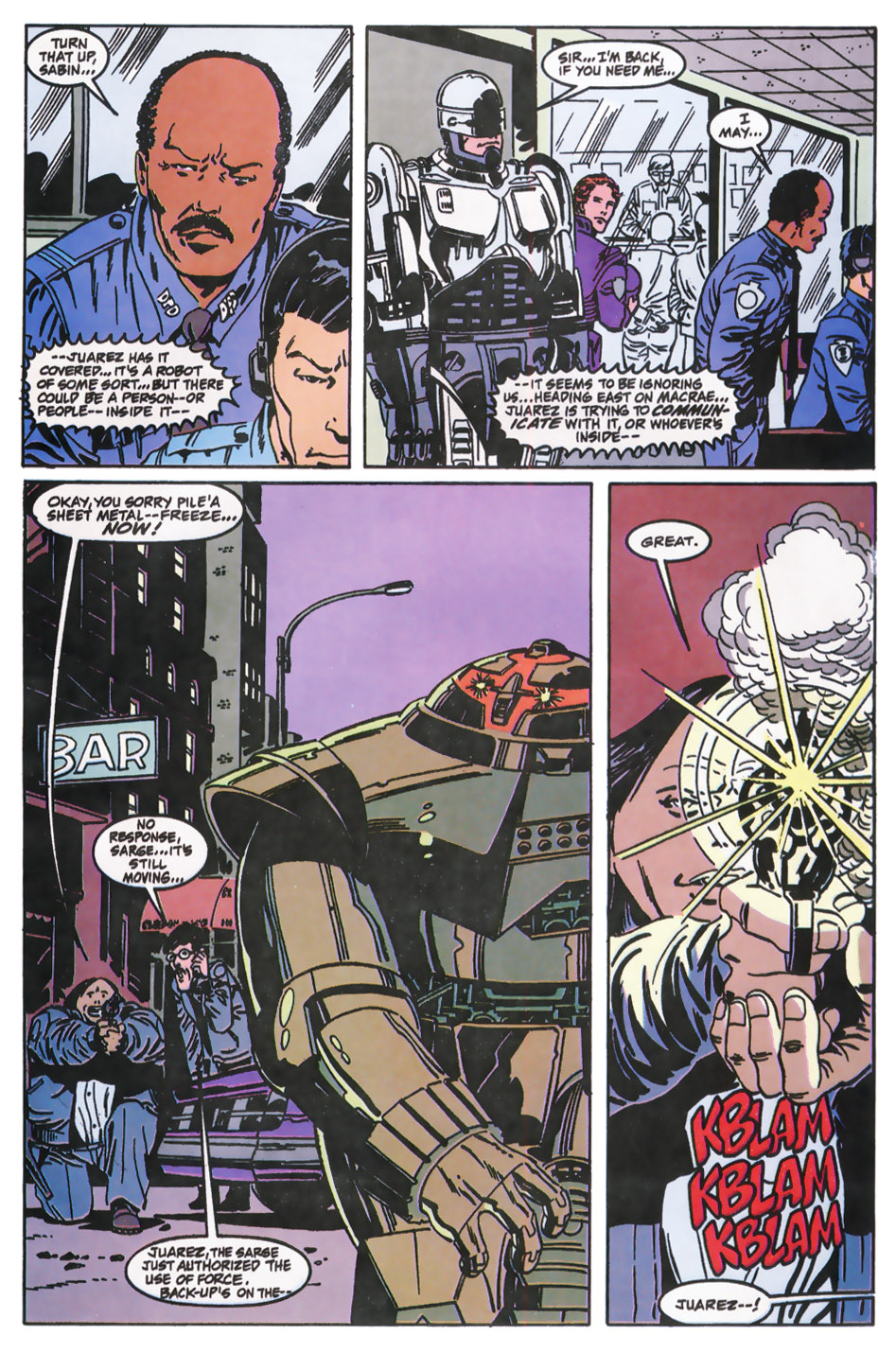 Read online Robocop (1990) comic -  Issue #11 - 10