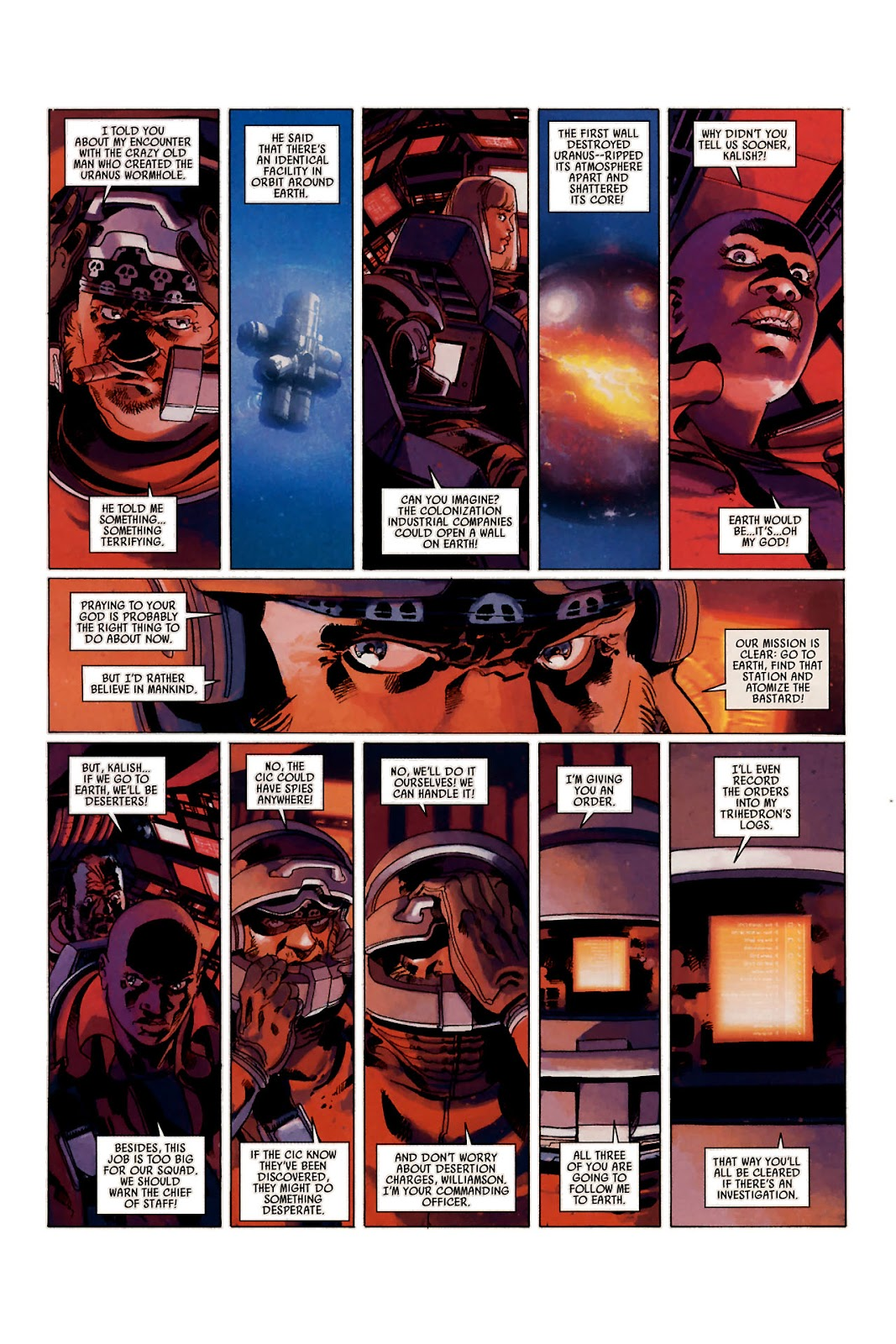 Read online Universal War One: Revelations comic -  Issue #1 - 10