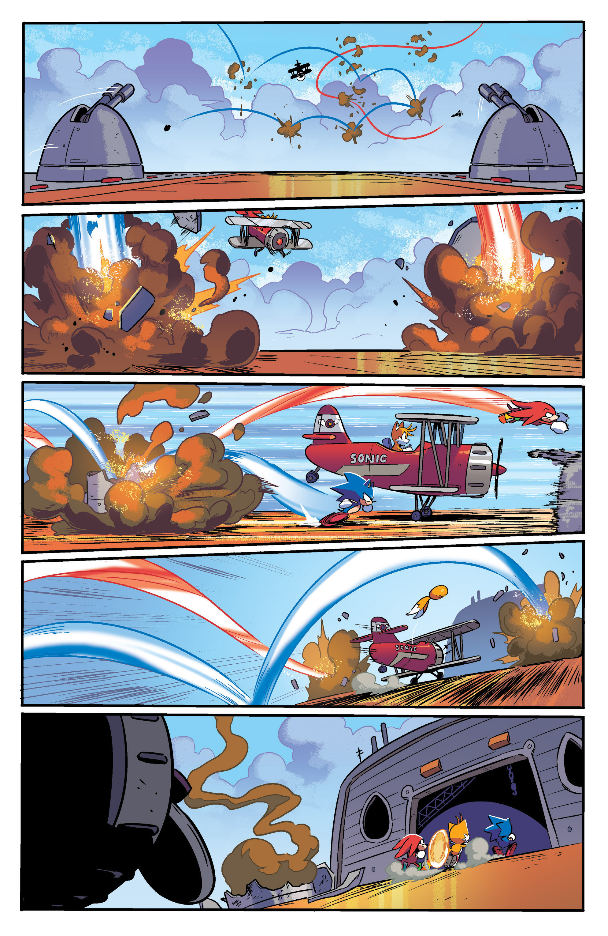 Read online Sonic Mega Drive: Next Level comic -  Issue # Full - 25