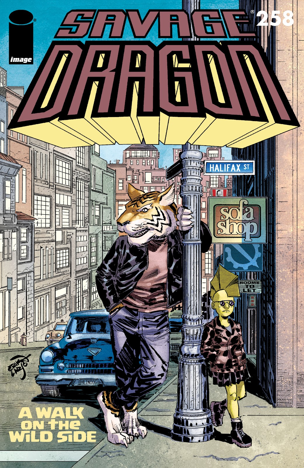 The Savage Dragon (1993) issue 258 - Page 1