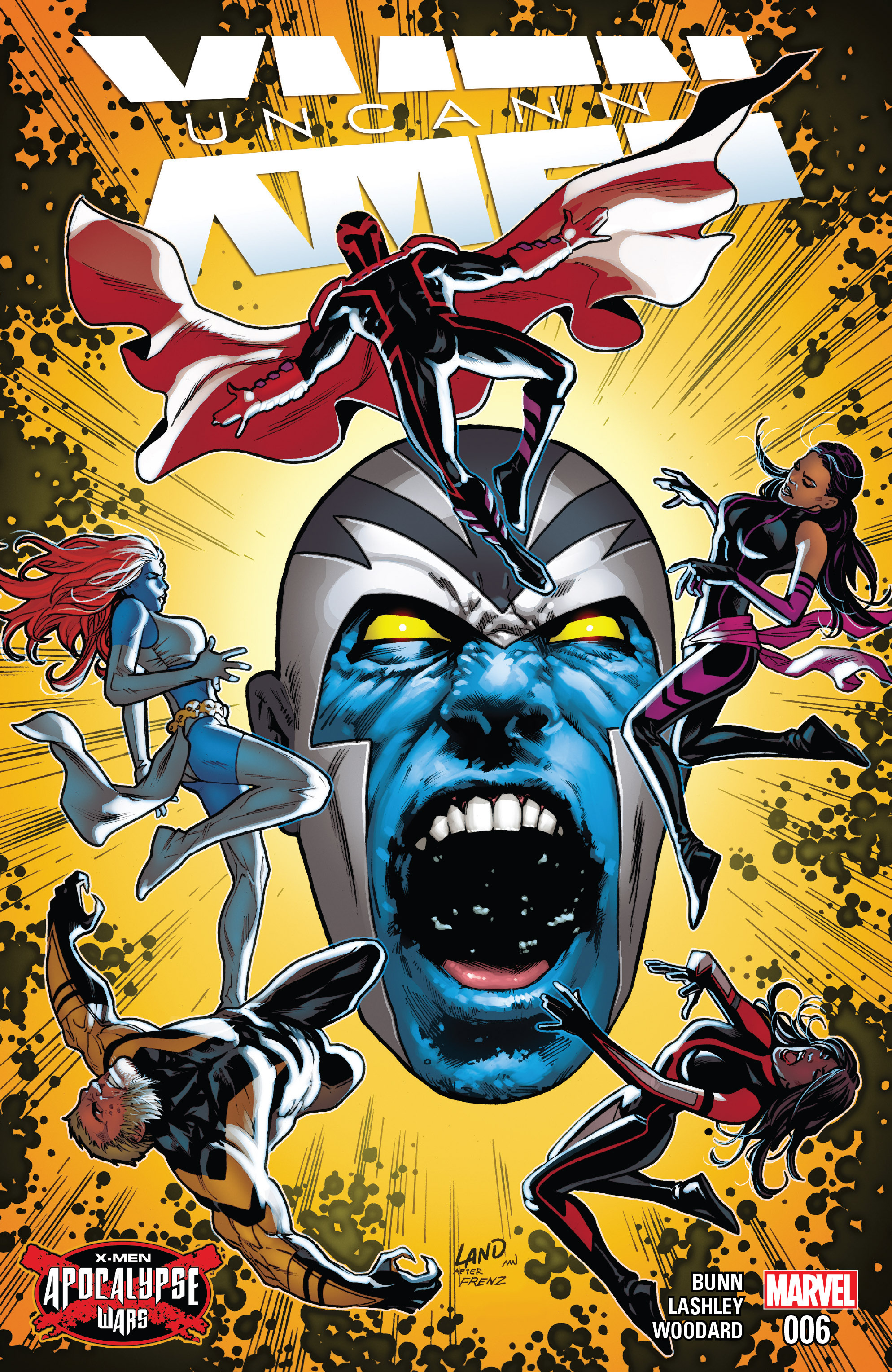 Read online Uncanny X-Men (2016) comic -  Issue #6 - 1