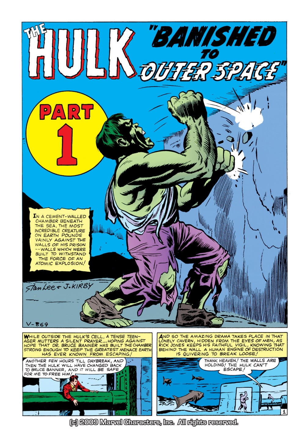 Read online Marvel Masterworks: The Incredible Hulk comic -  Issue # TPB 1 (Part 1) - 54