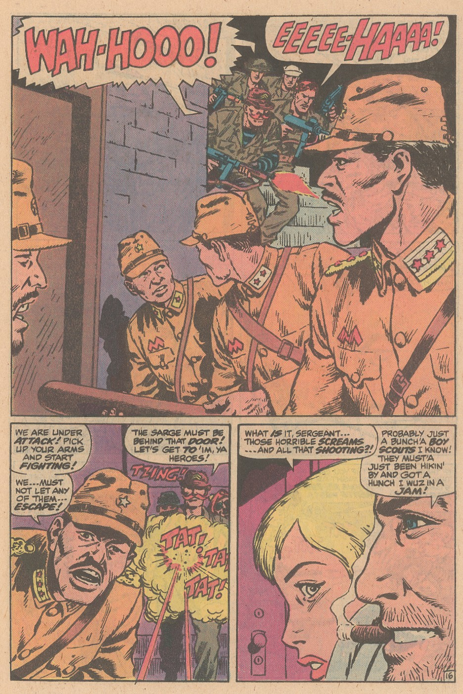 Read online Sgt. Fury comic -  Issue #161 - 23