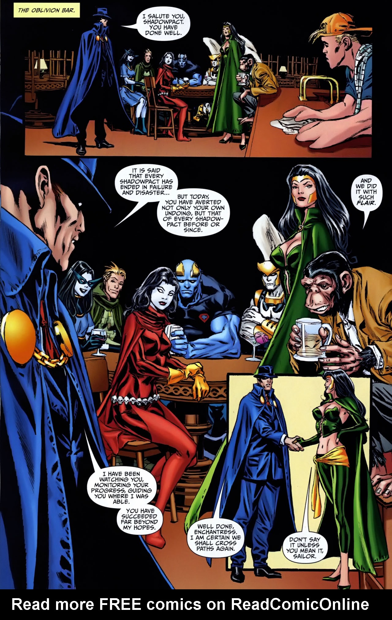 Read online Shadowpact comic -  Issue #25 - 20