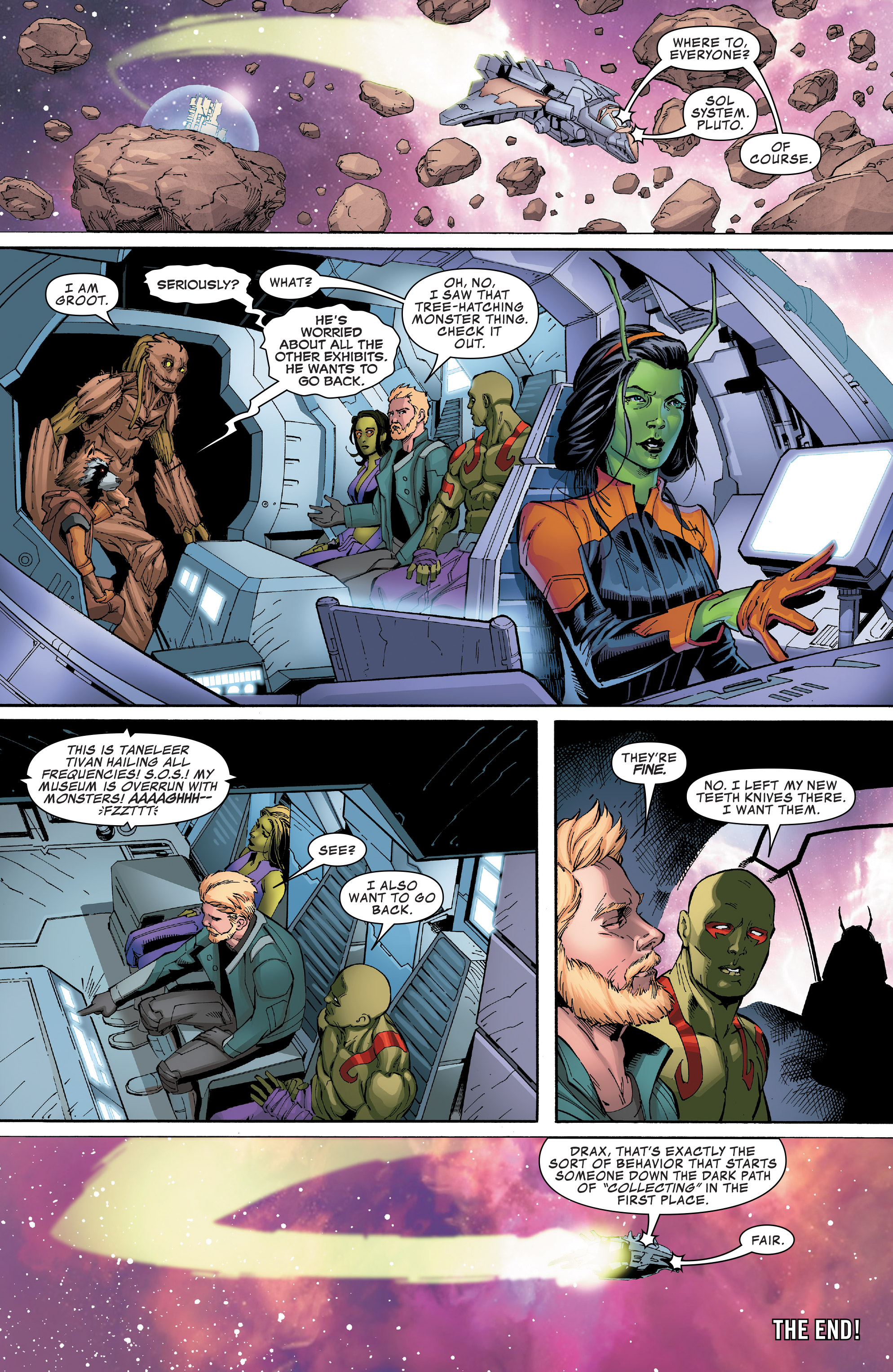 Read online Guardians of the Galaxy: Mission Breakout comic -  Issue # Full - 31