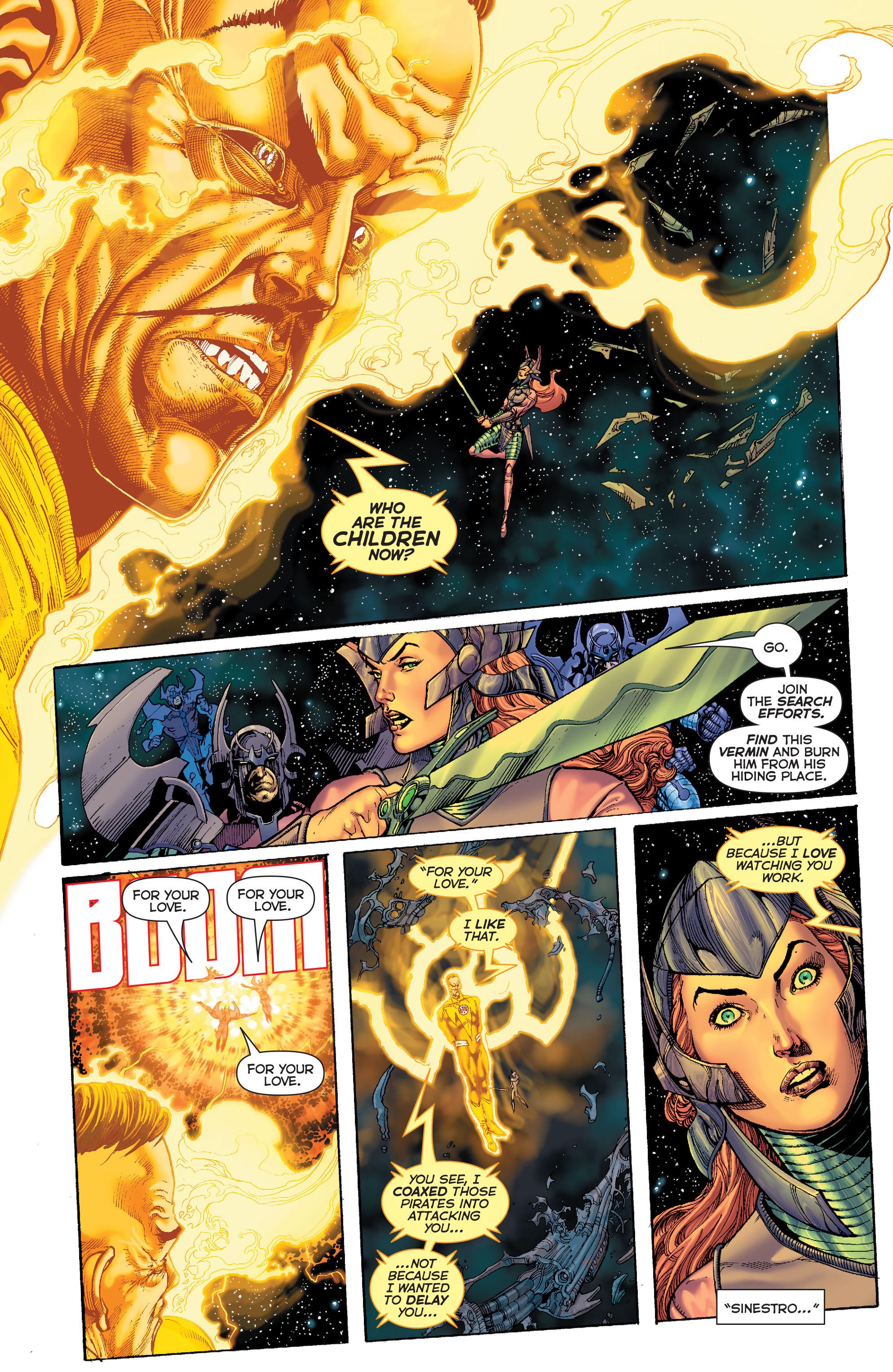 Read online Sinestro comic -  Issue #7 - 6