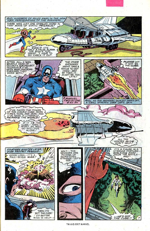 Read online Captain America (1968) comic -  Issue # _Annual 7 - 11
