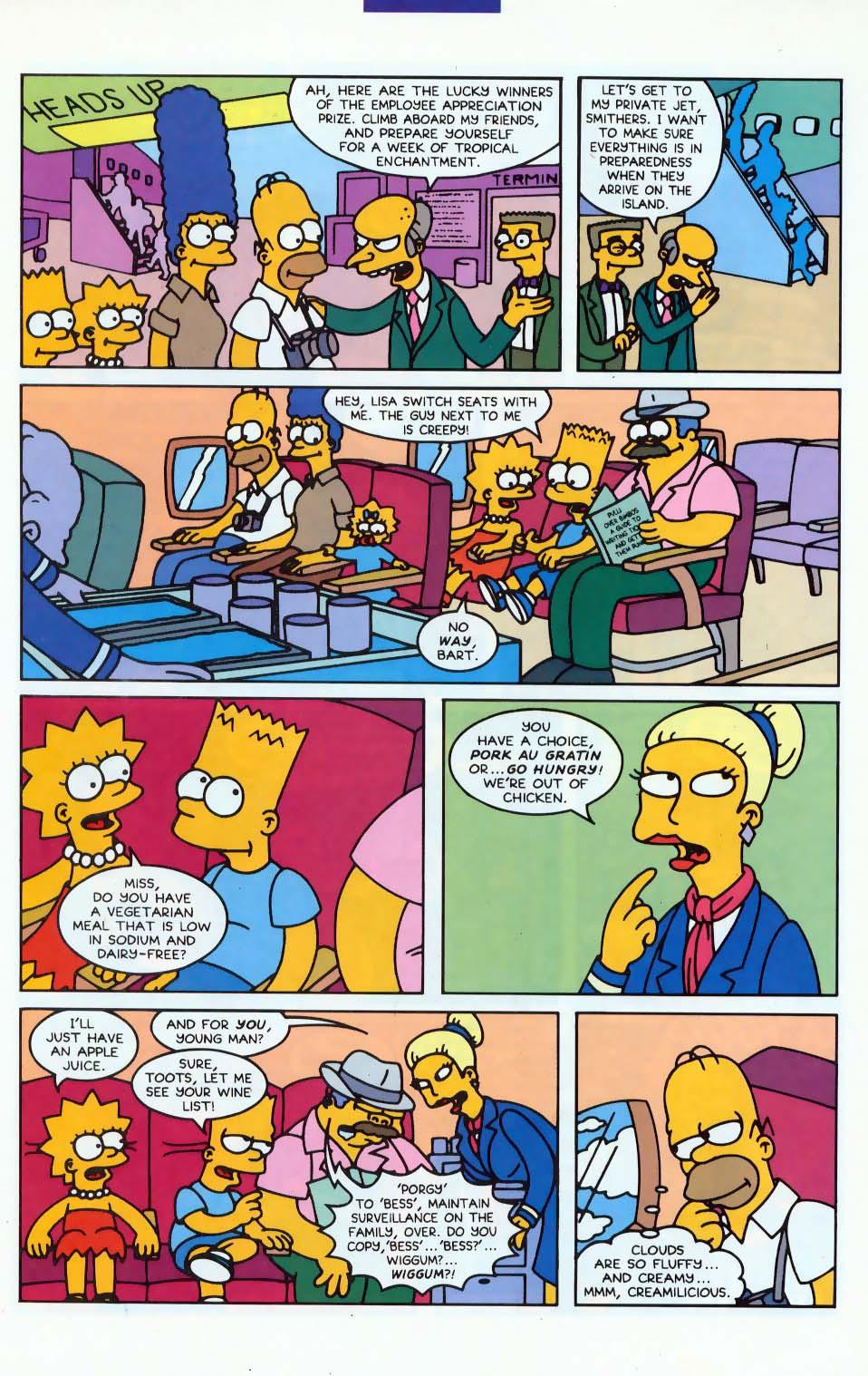 Read online Simpsons Comics comic -  Issue #10 - 8
