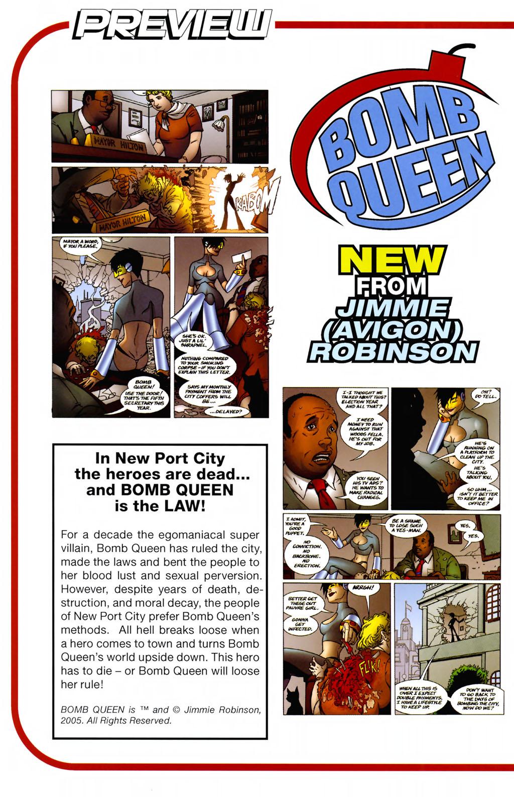 Read online ShadowHawk (2005) comic -  Issue #8 - 26