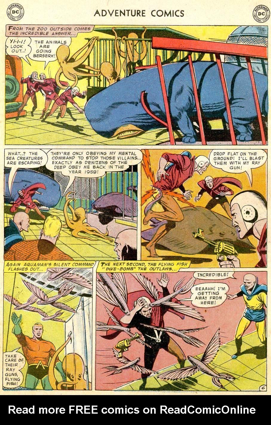 Read online Adventure Comics (1938) comic -  Issue #251 - 31