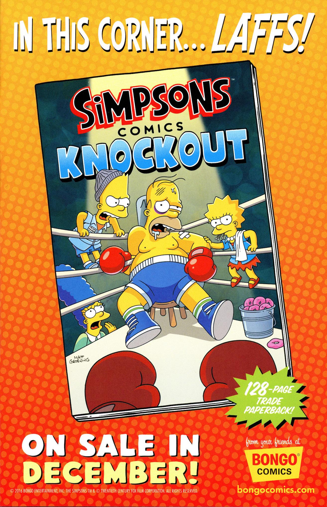 Read online Simpsons Comics comic -  Issue #233 - 31