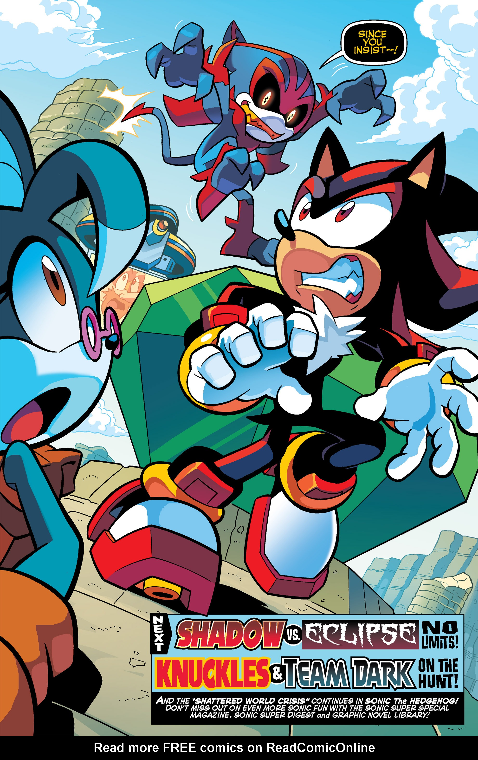 Read online Sonic Universe comic -  Issue #67 - 21