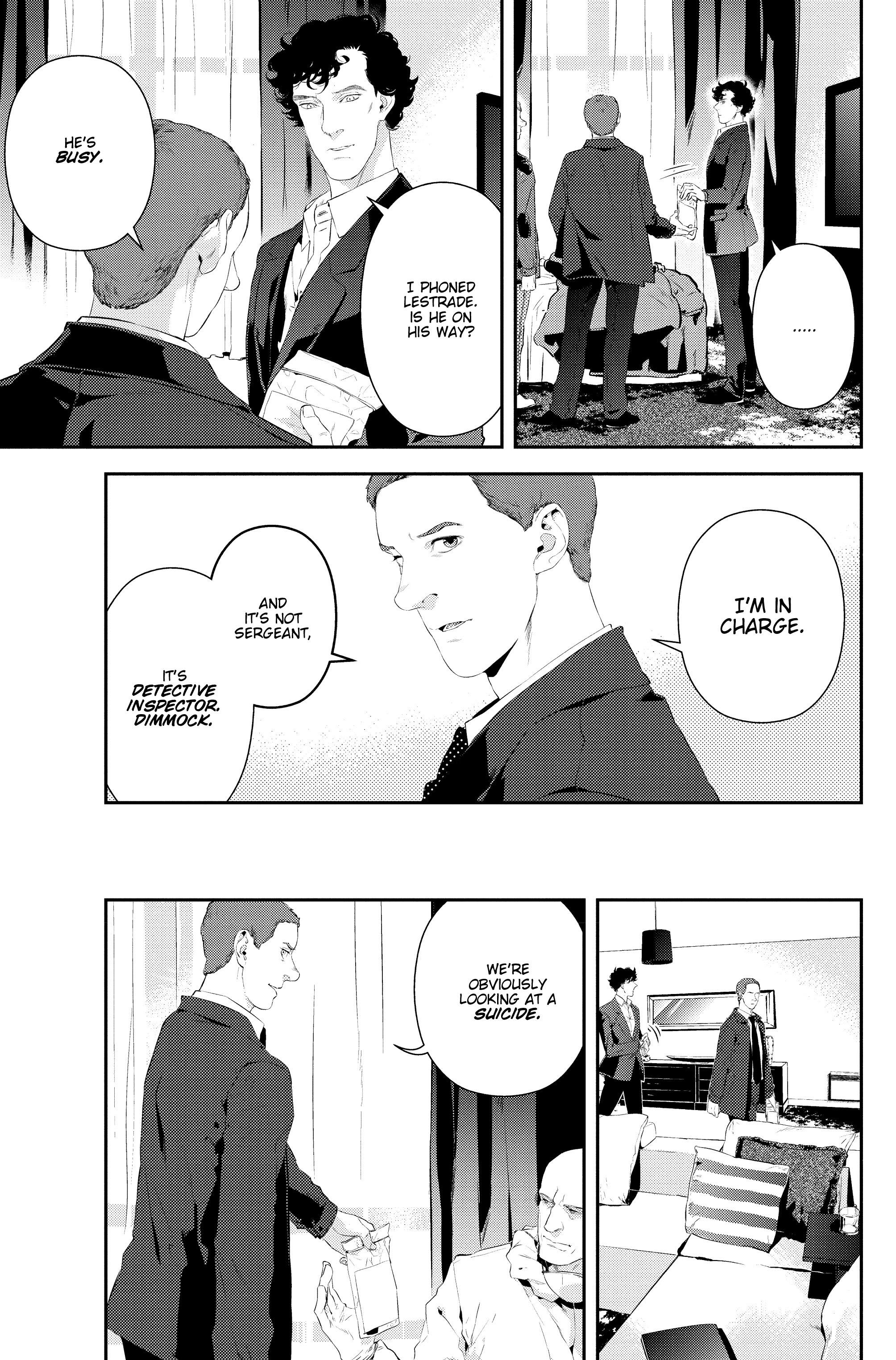 Read online Sherlock: The Blind Banker comic -  Issue #2 - 12