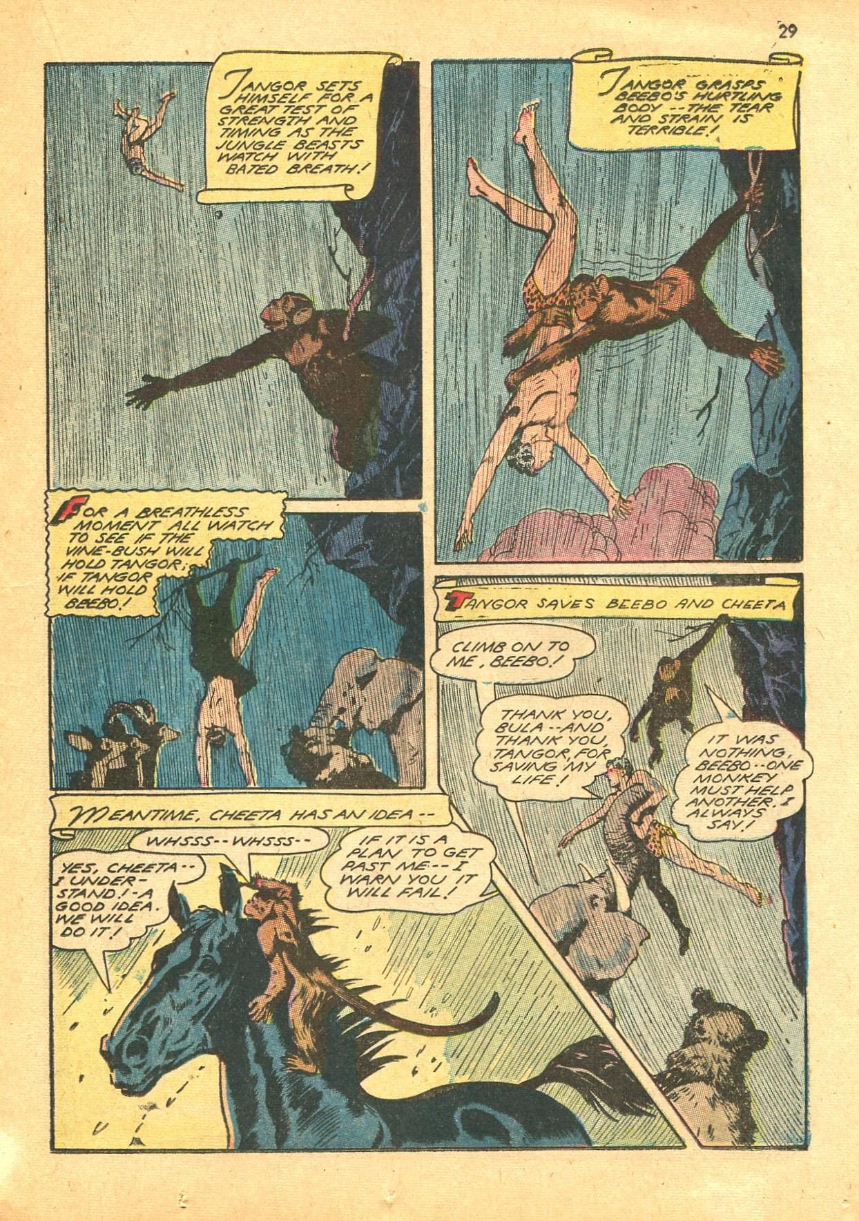 Read online Shadow Comics comic -  Issue #24 - 29