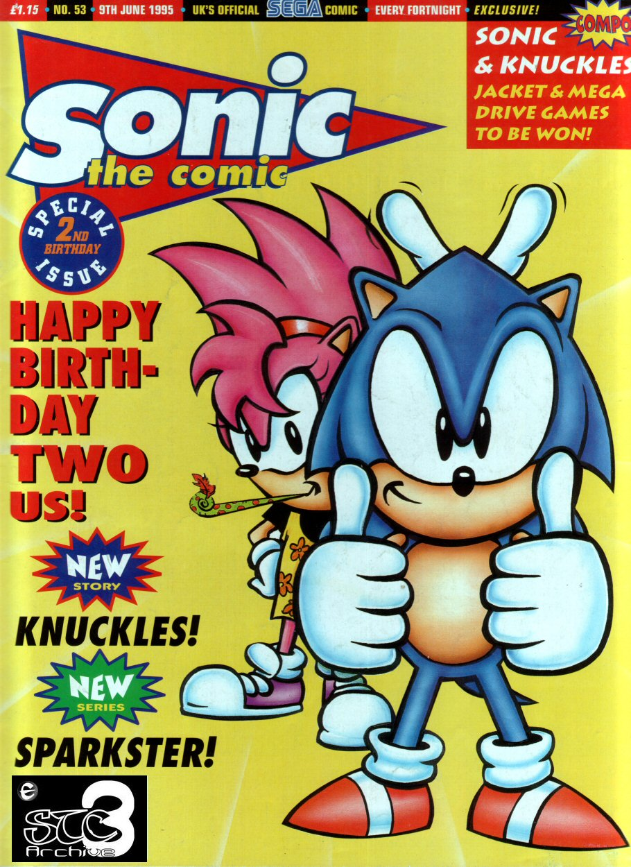 Read online Sonic the Comic comic -  Issue #53 - 1