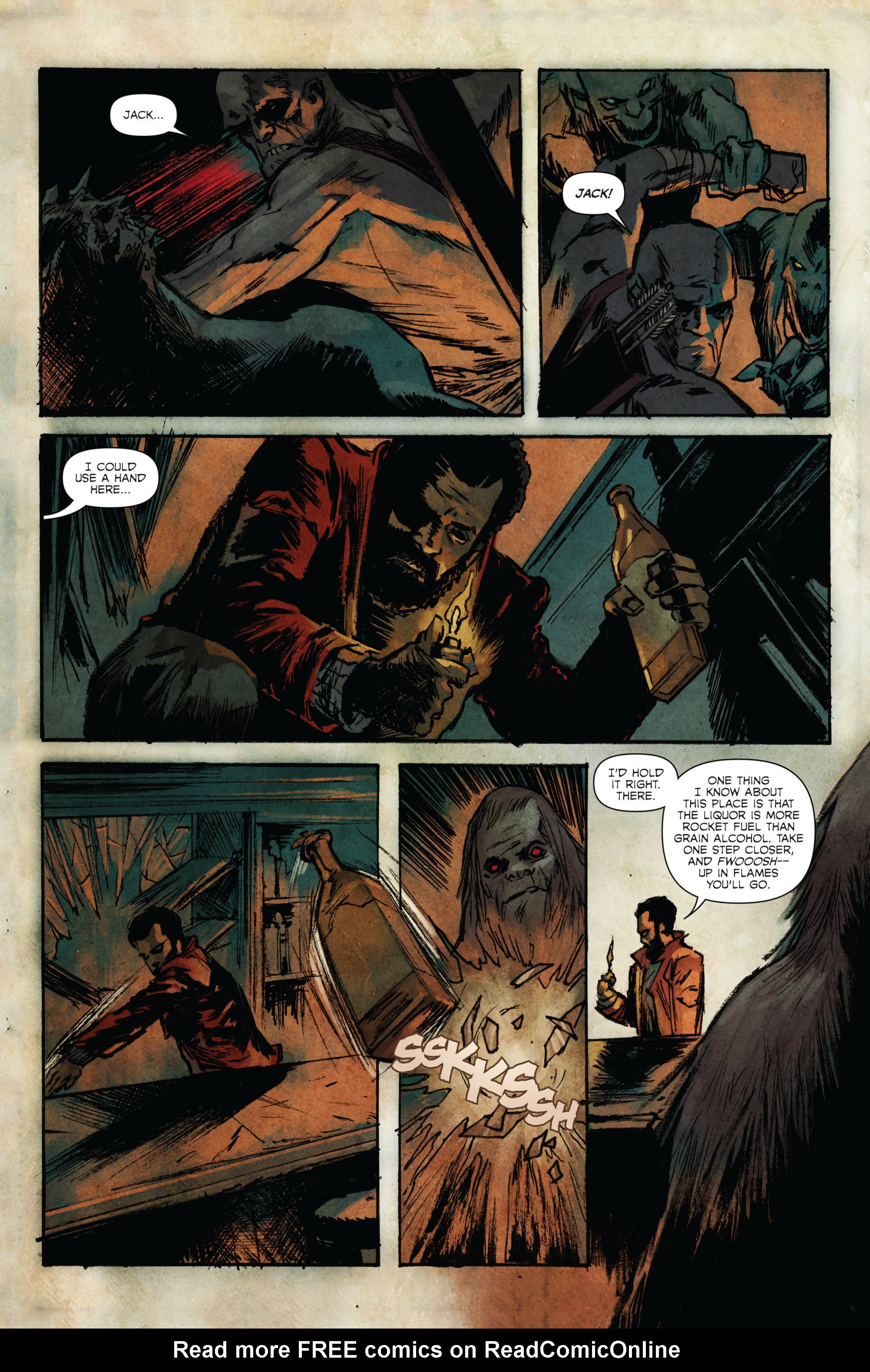 Read online Hoax Hunters (2015) comic -  Issue #4 - 9
