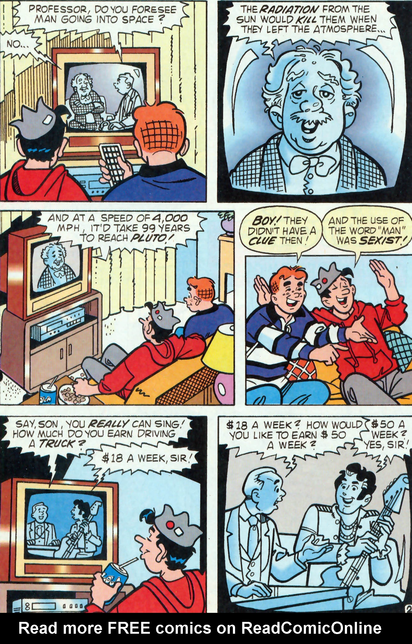 Read online Archie (1960) comic -  Issue #455 - 14