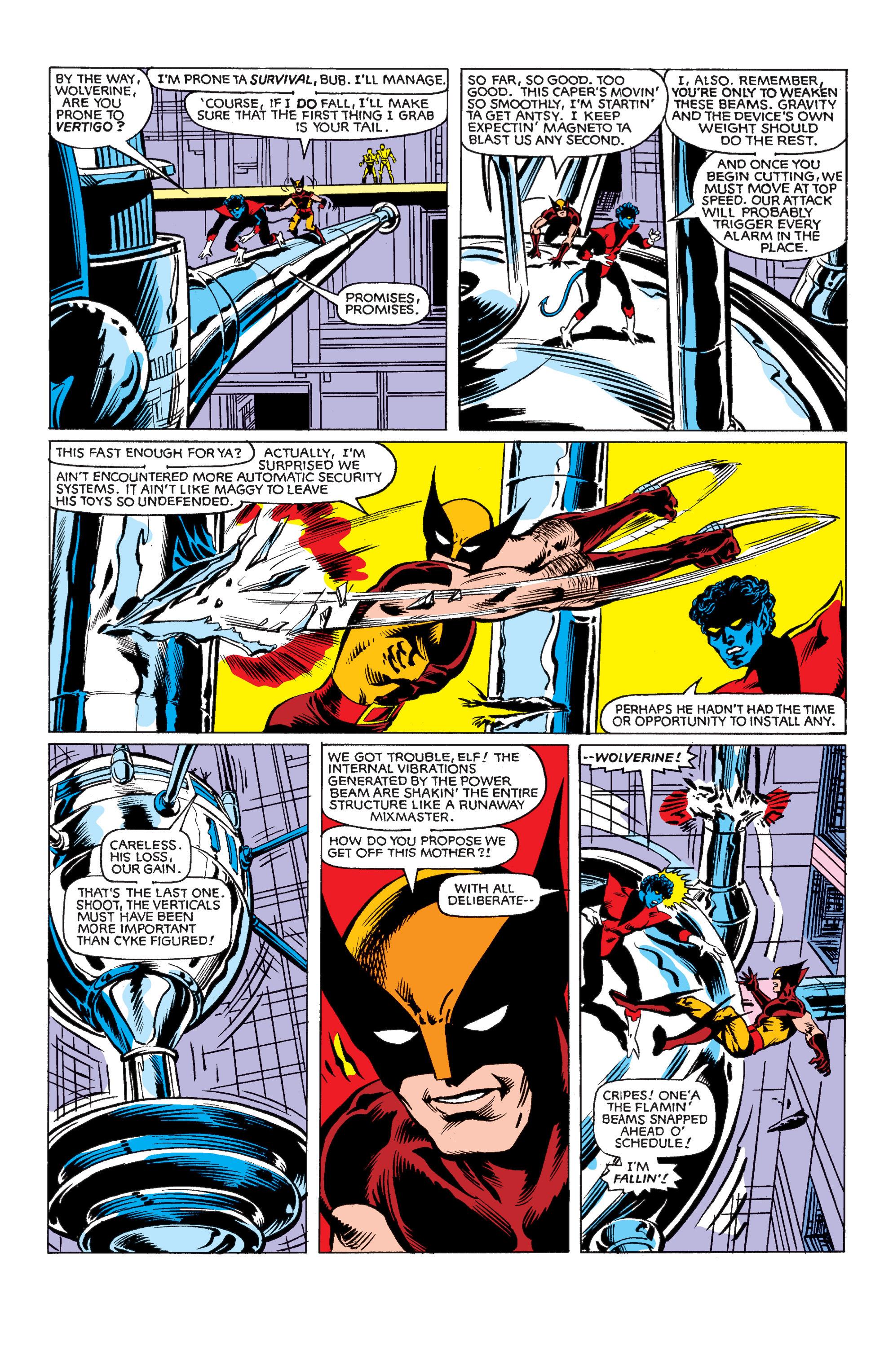 Read online Uncanny X-Men (1963) comic -  Issue #150 - 21