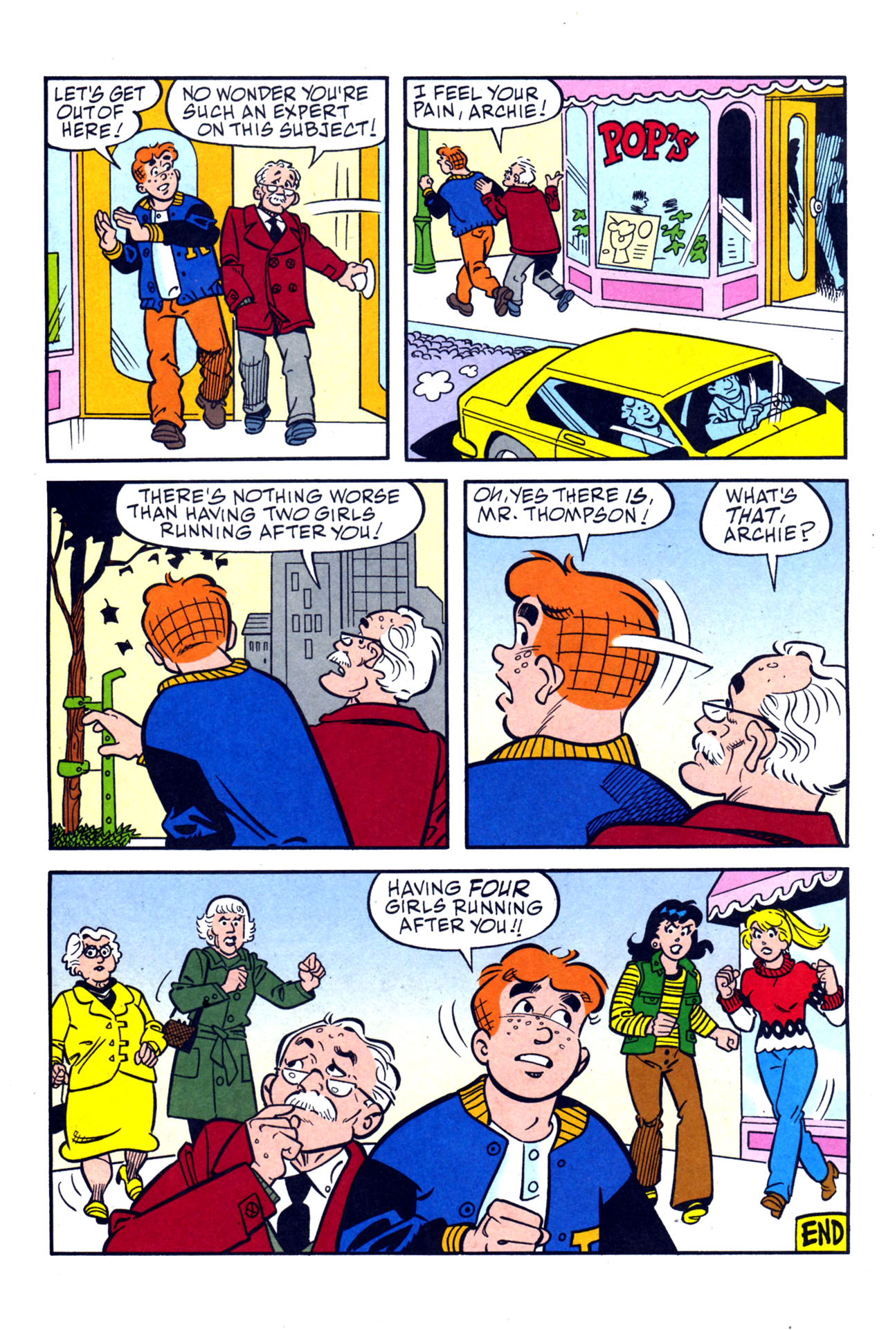 Read online Archie (1960) comic -  Issue #579 - 18