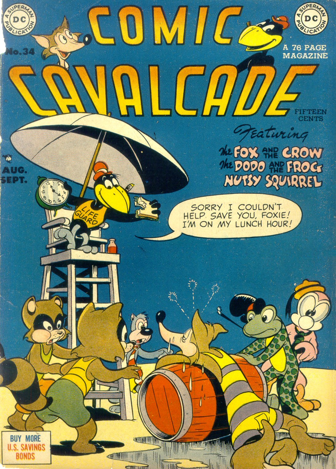 Comic Cavalcade issue 34 - Page 1
