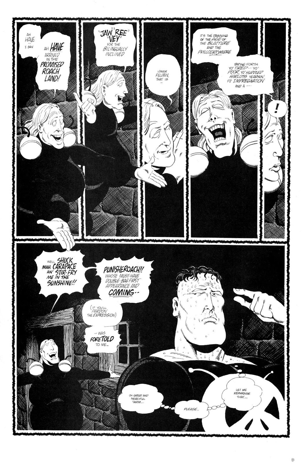 Cerebus Issue #159 #158 - English 20