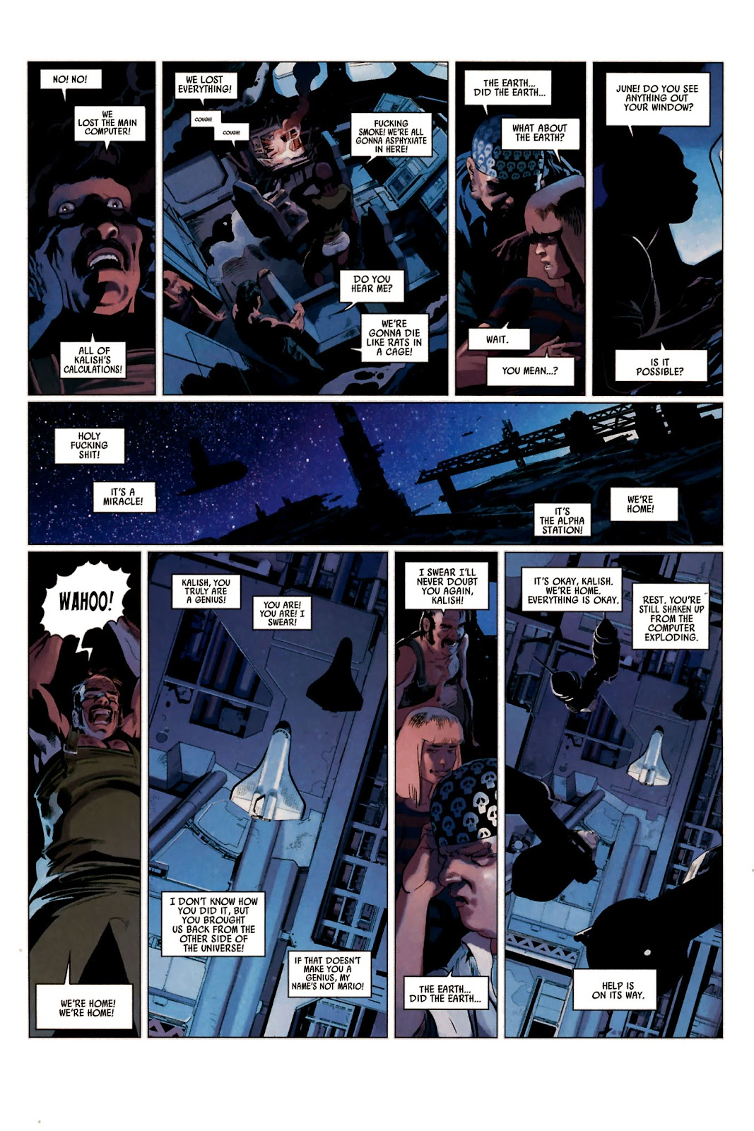 Read online Universal War One: Revelations comic -  Issue #2 - 16