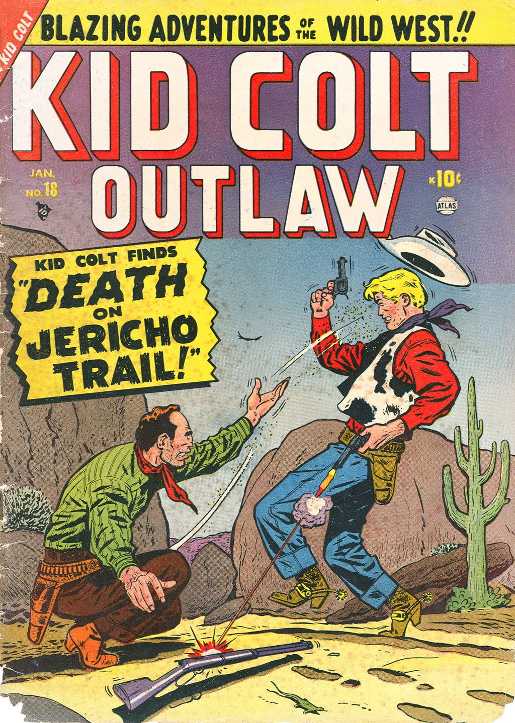 Kid Colt Outlaw issue 18 - Page 1