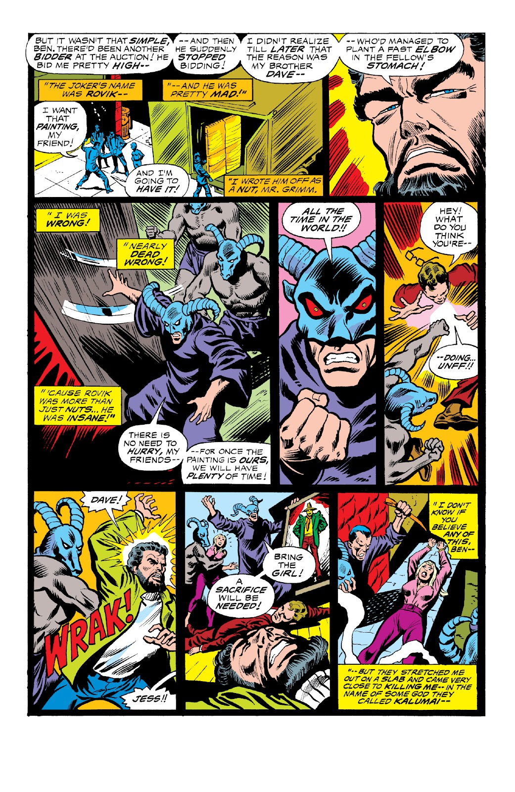 Read online Marvel Two-In-One Epic Collection: Cry Monster comic -  Issue # TPB (Part 4) - 88