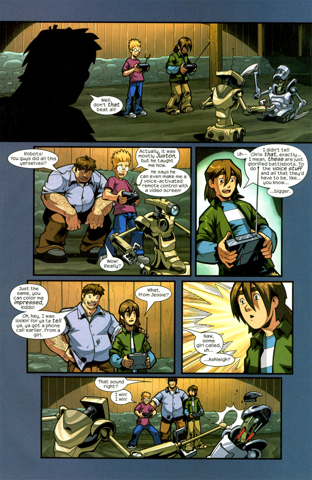 Read online Sentinel comic -  Issue #7 - 13