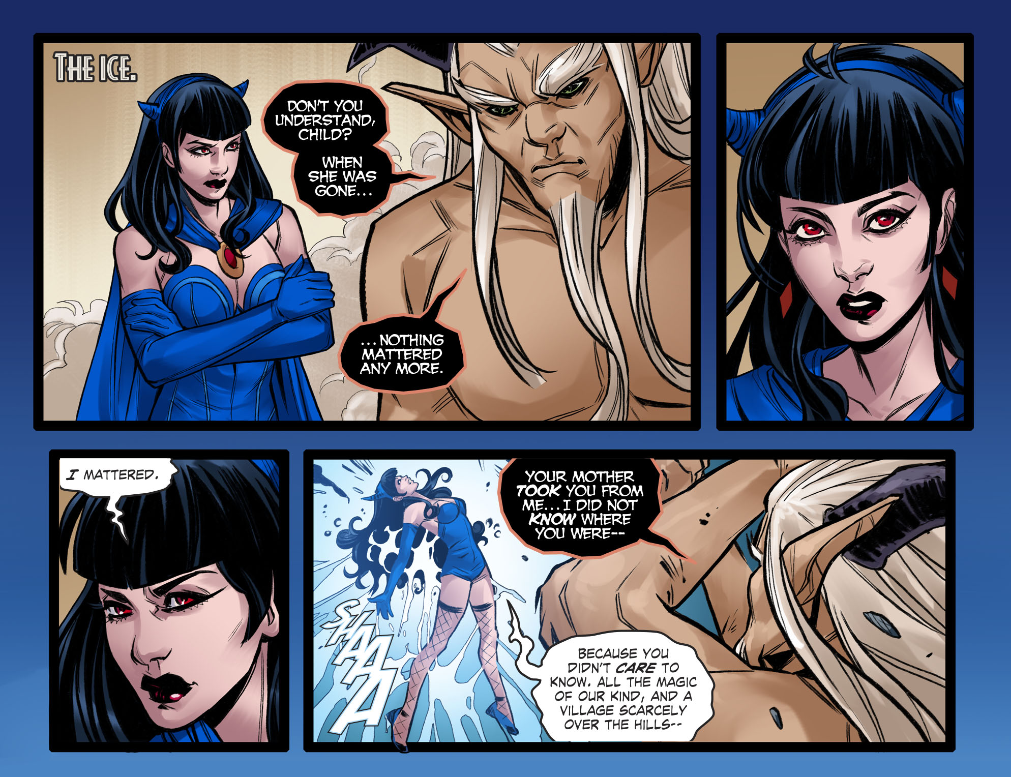 Read online DC Comics: Bombshells comic -  Issue #96 - 22