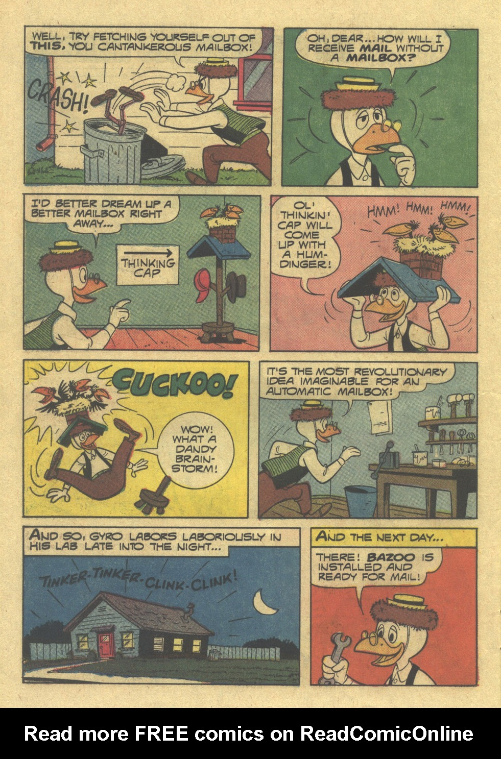 Read online Uncle Scrooge (1953) comic -  Issue #100 - 20