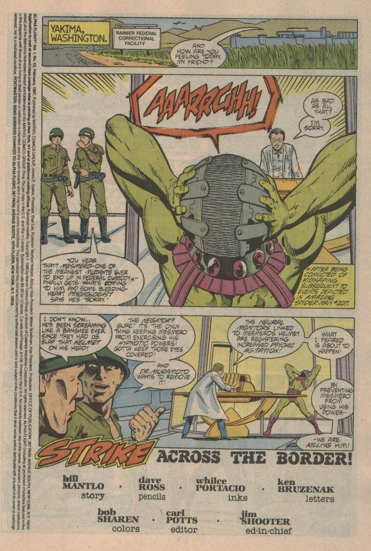 Read online Alpha Flight (1983) comic -  Issue #43 - 2